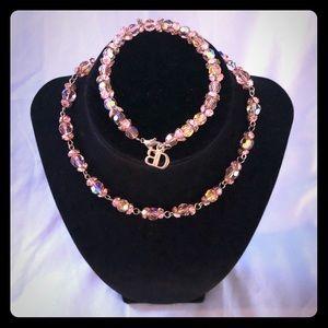 Blair Delmonico necklace and bracelet set.
